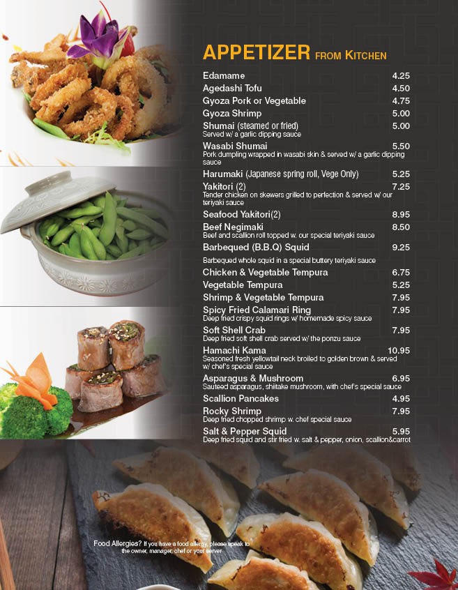 Akari Sushi And Japanese Food Tel 845 471 1773 845 471 8889 Fax 845 471 1774 35 Main Street At Dooley Square Poughkeepsie Ny 12601 Across From The Train Station